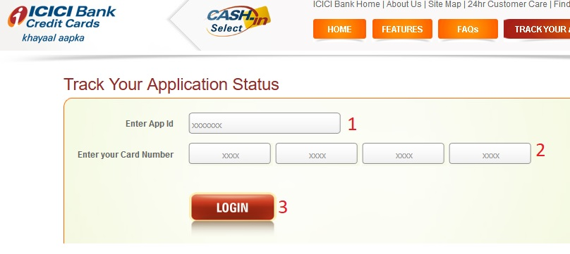 icici bank credit card application form zimbabwe