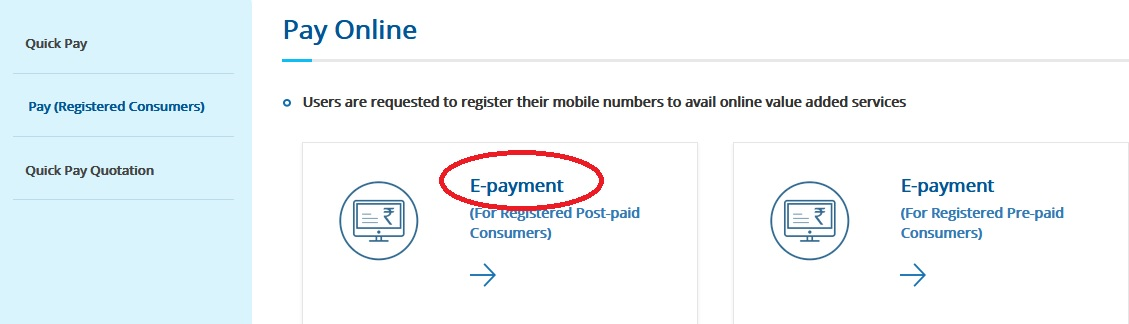 wbsedcl in View Bill & Online Payment History/Download ePayment