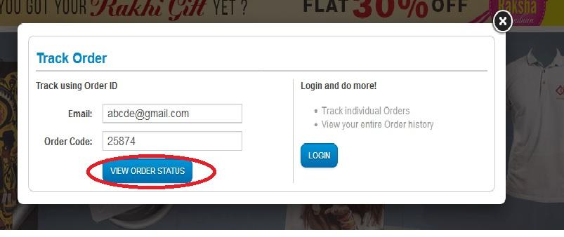 Printvenue Track Order Status – www statusin in
