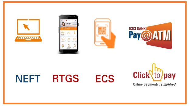 icici bank personal loan emi pay online